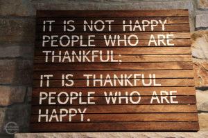Gratitude Happy